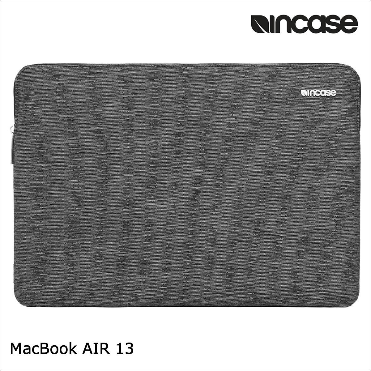 INCASE インケース バッグ パソコンバッグ PCケース 13インチ SLIM SLEEVE FOR MACBOOK AIR 13 CL60686 レディース メンズ ブラック [1/17 再入荷]