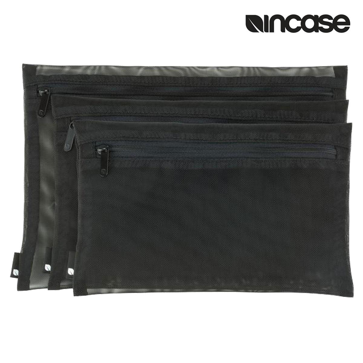 INCASE インケース ケース ジップケース ZIP POUCH 3 PACK INTR400180 レディース メンズ ブラック