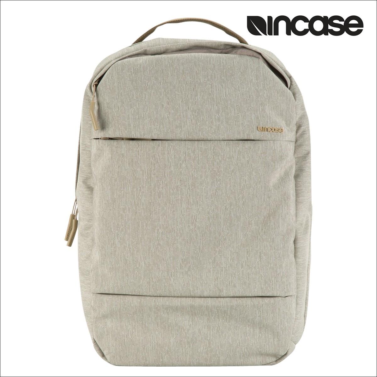 INCASE インケース バックパック バック リュック パソコンバッグ PCケース 15インチ CITY COMPACT BACKPACK INCO100150 メンズ レディース カーキ [1/17 再入荷]