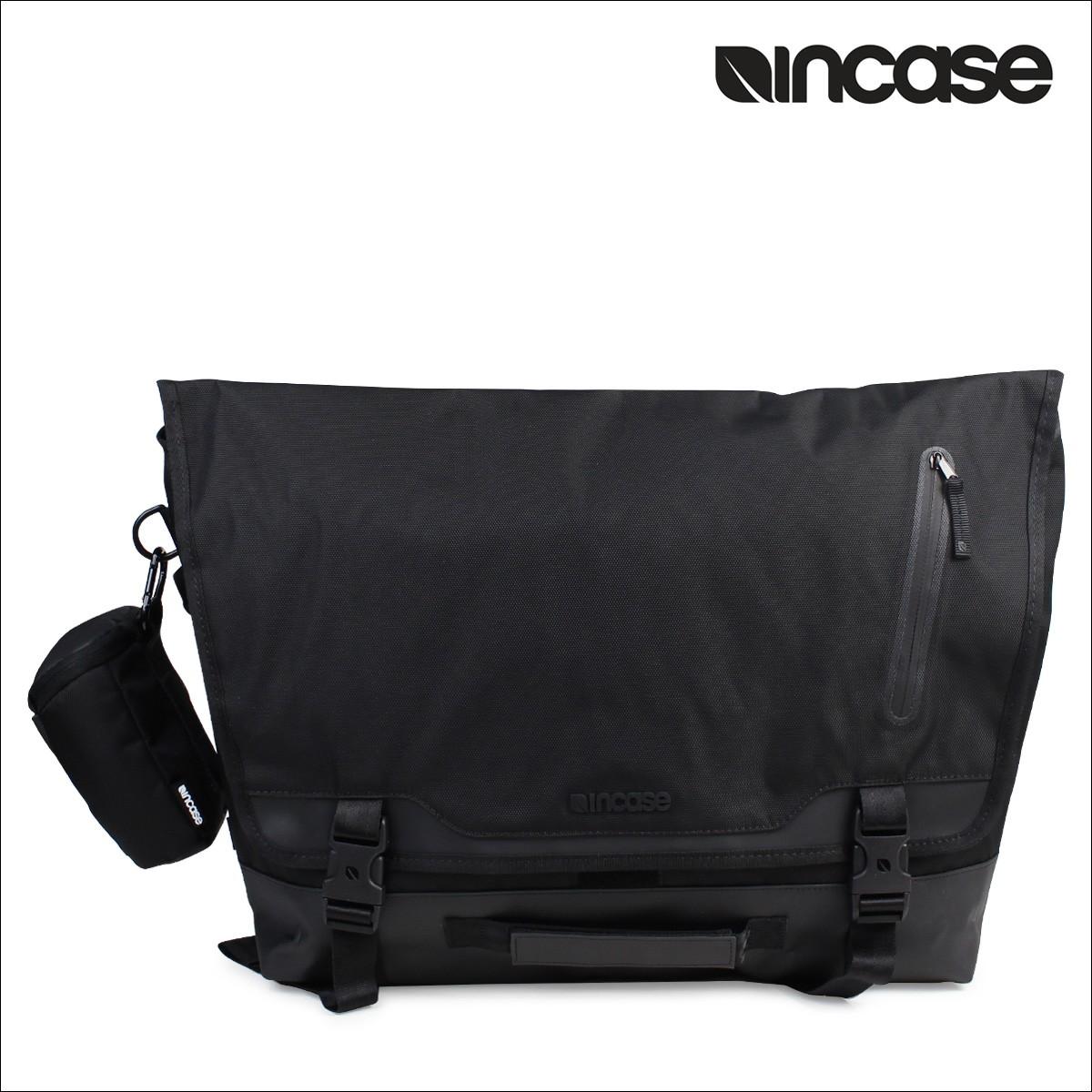 INCASE インケース バック ショルダー メッセンジャーバッグ SPORT MESSENGER INCO200284 メンズ レディース ブラック [1/17 再入荷]