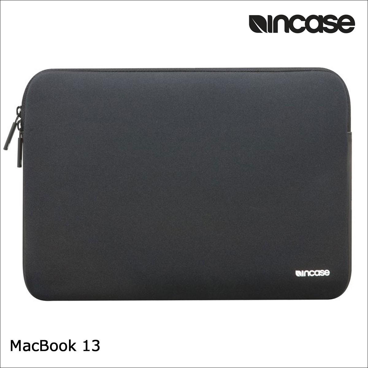 INCASE インケース バッグ パソコンバッグ PCケース 13インチ ARIAPRENE CLASSIC SLEEVE FOR MACBOOK 13 INMB10072 メンズ レディース ブラック [1/17 再入荷]