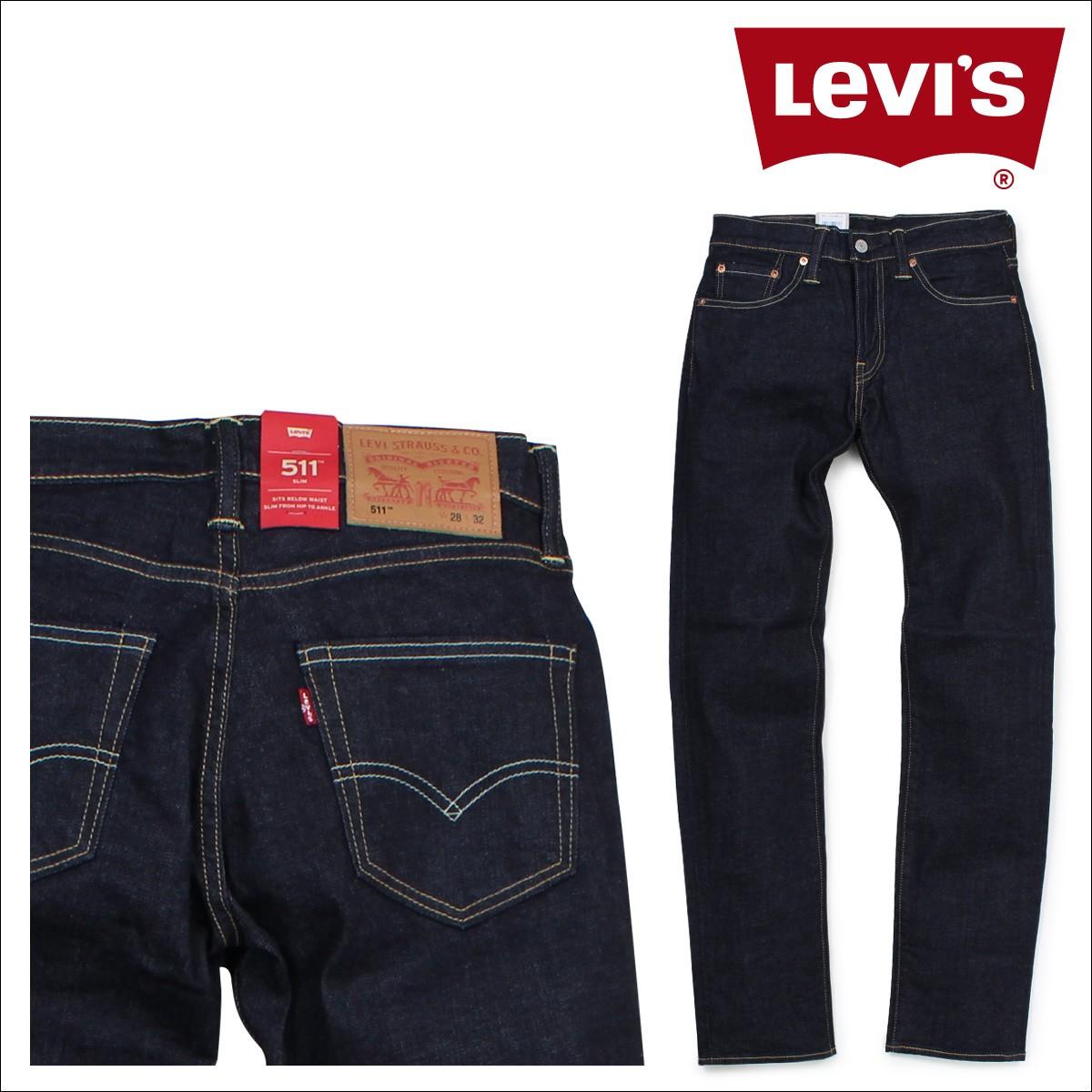 リーバイス 511 LEVI'S スリム メンズ デニム パンツ SLIM TAPERED FIT 00511-1322 [1/10 新入荷]