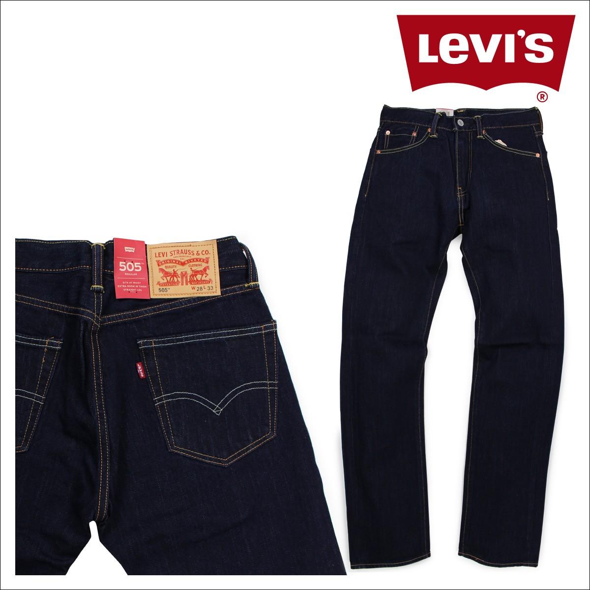 リーバイス 505 LEVI'S ストレート メンズ デニム パンツ REGULAR FIT STRAIGHT 00505-0649 [1/10 新入荷]