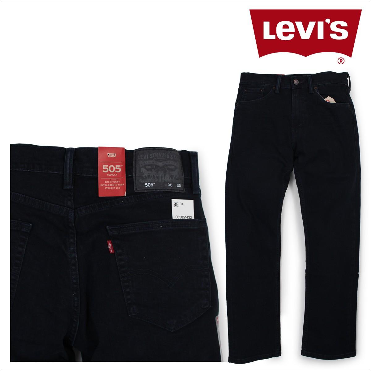 リーバイス 505 LEVI'S ストレート メンズ ストレッチ デニム パンツ REGULAR FIT STRAIGHT