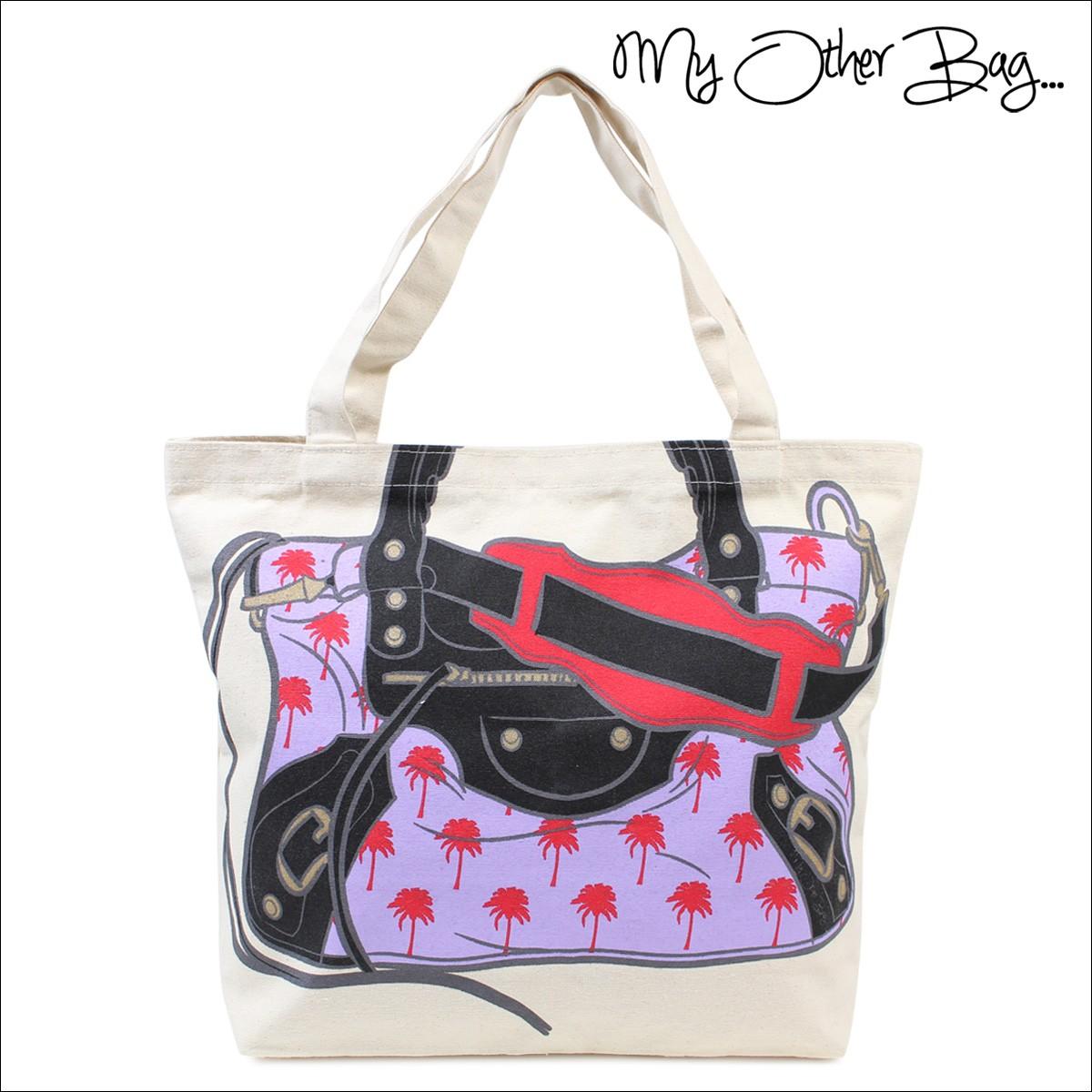 マイアザーバッグ トートバッグ My Other Bag バッグ エコバッグ オーガニック コットン B01-63 レディース