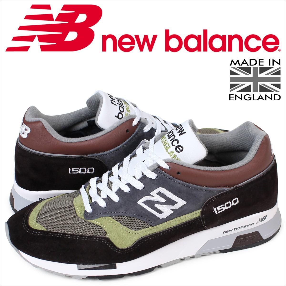 ニューバランス 1500 メンズ new balance スニーカー M1500BGG Dワイズ MADE IN UK 靴 ブラウン [12/6 新入荷]