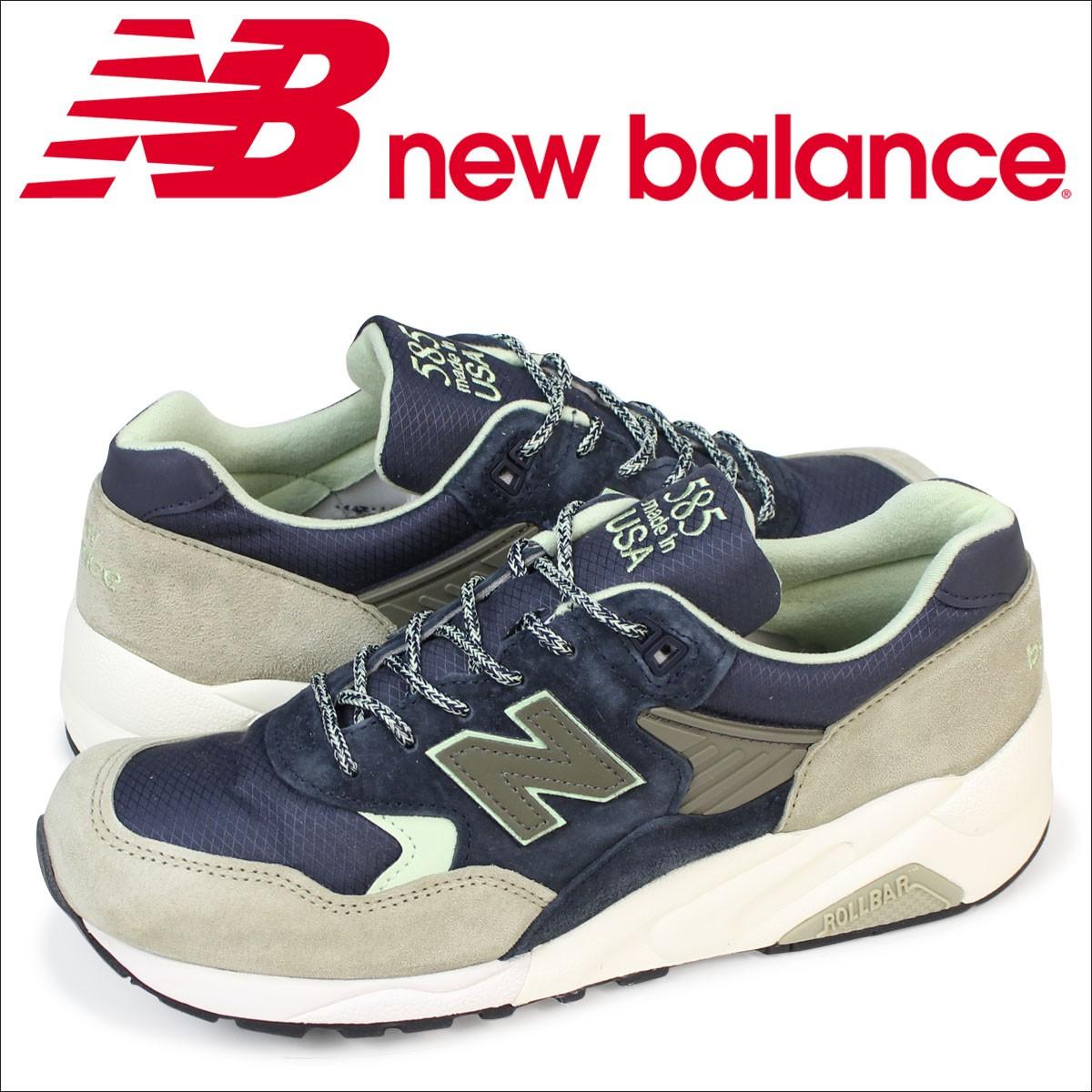 ニューバランス 585 メンズ new balance スニーカー M585TR Dワイズ 靴 ネイビー 【CLEARANCE】【返品不可】