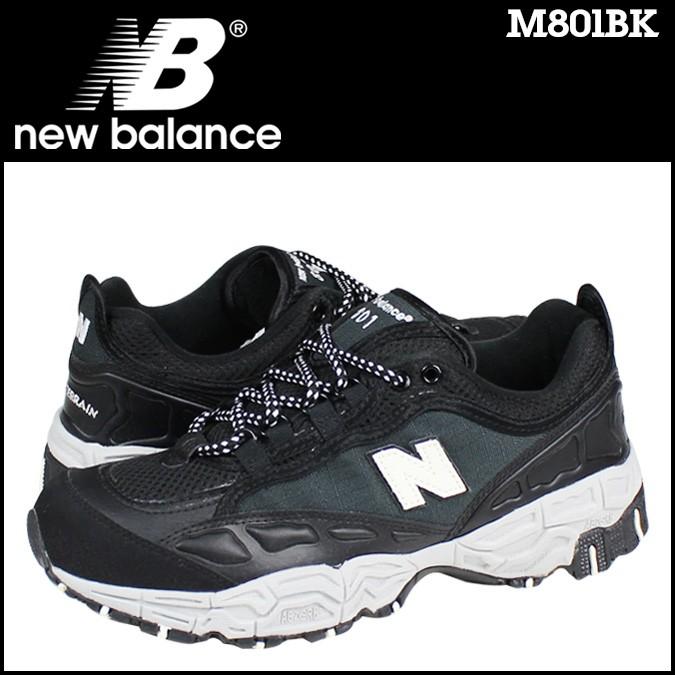 ニューバランス 801 メンズ new balance スニーカー M801BK Dワイズ 靴 ブラック 【CLEARANCE】【返品不可】