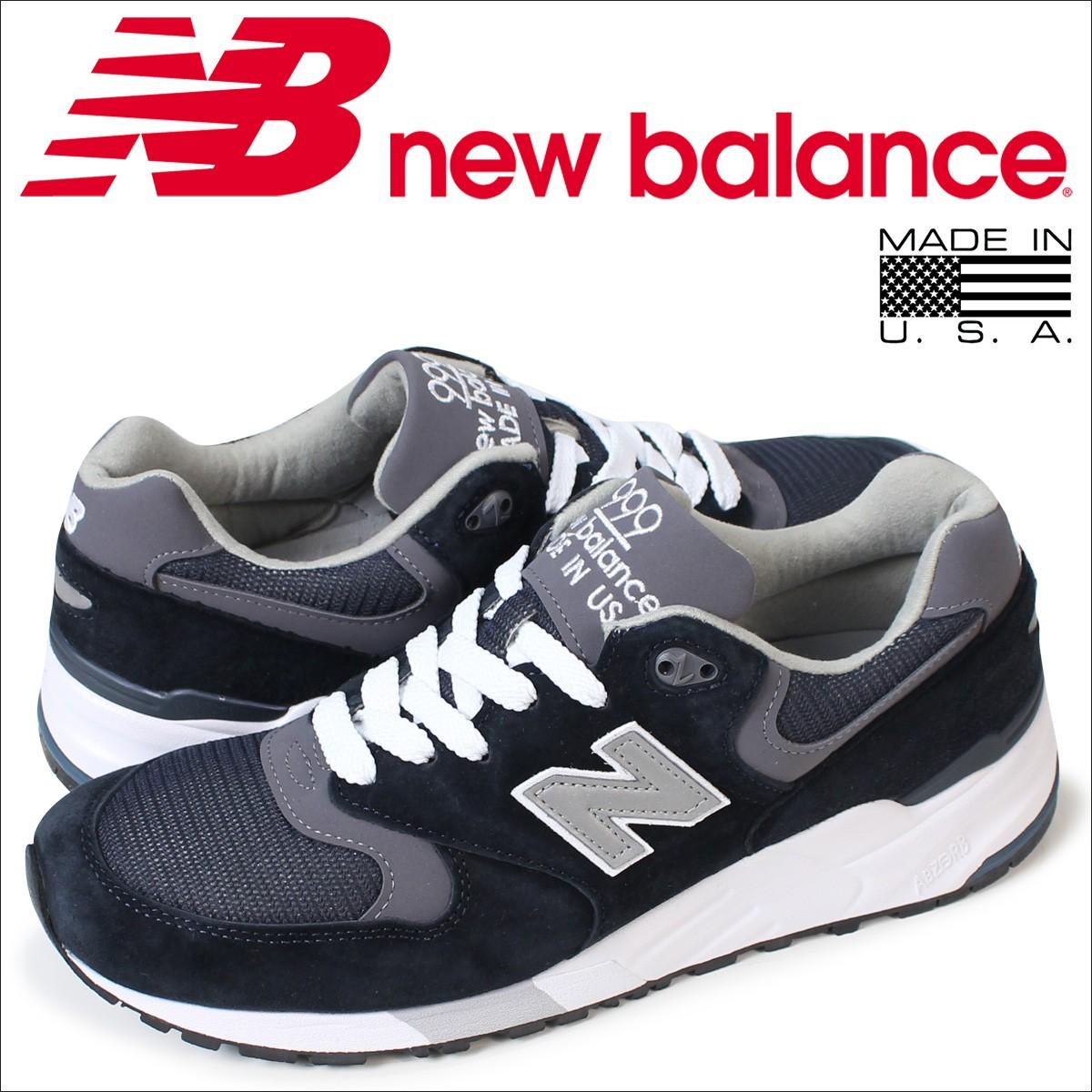 ニューバランス 999 メンズ new balance スニーカー M999CBL Dワイズ MADE IN USA 靴 ネイビー
