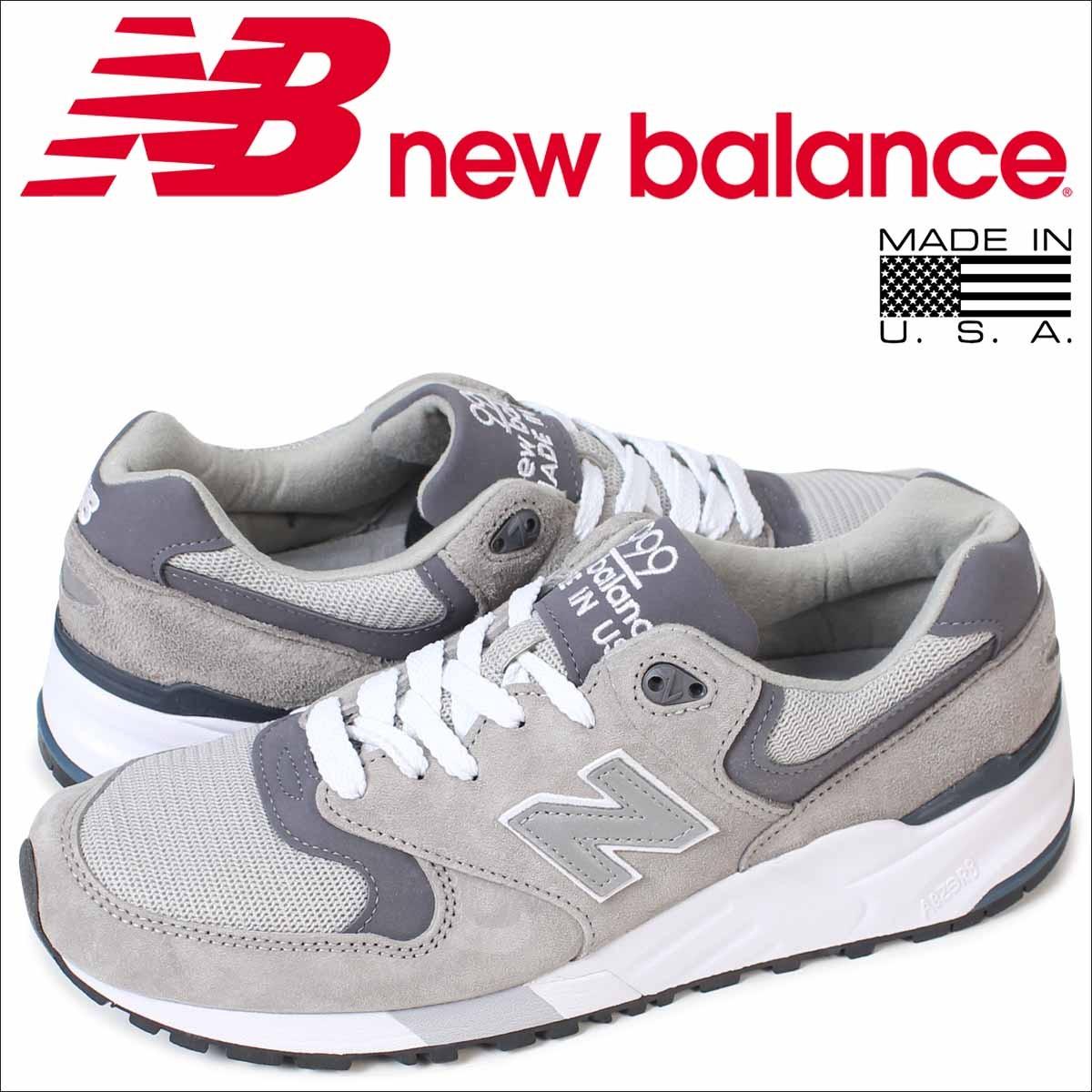 ニューバランス 999 メンズ new balance スニーカー M999CGL Dワイズ MADE IN USA 靴 グレー