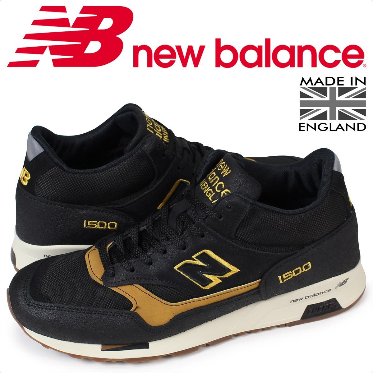 ニューバランス 1500 メンズ new balance スニーカー MH1500KT Dワイズ MADE IN UK 靴 ブラック [12/6 新入荷]