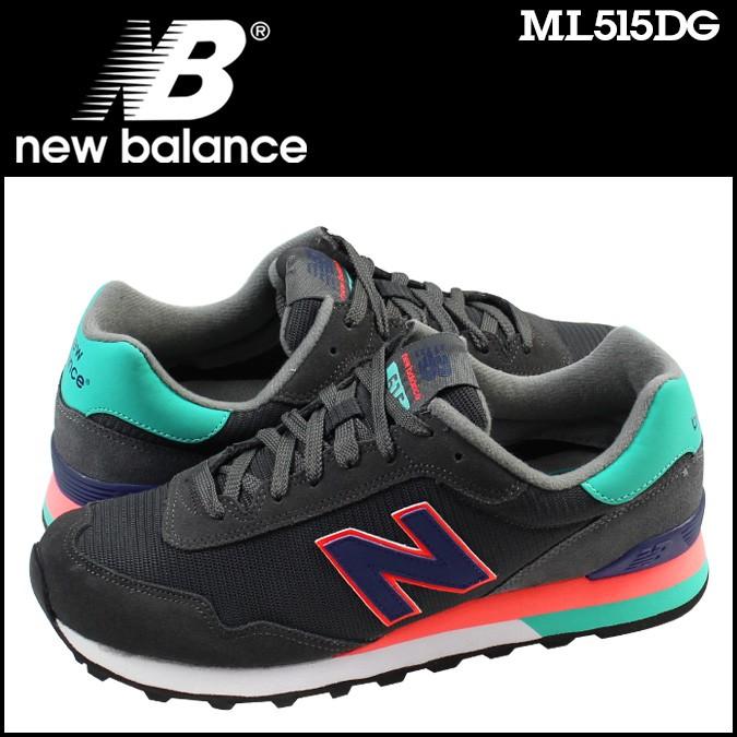 ニューバランス 515 メンズ new balance スニーカー ML515DG Dワイズ 靴 グレー 【CLEARANCE】【返品不可】