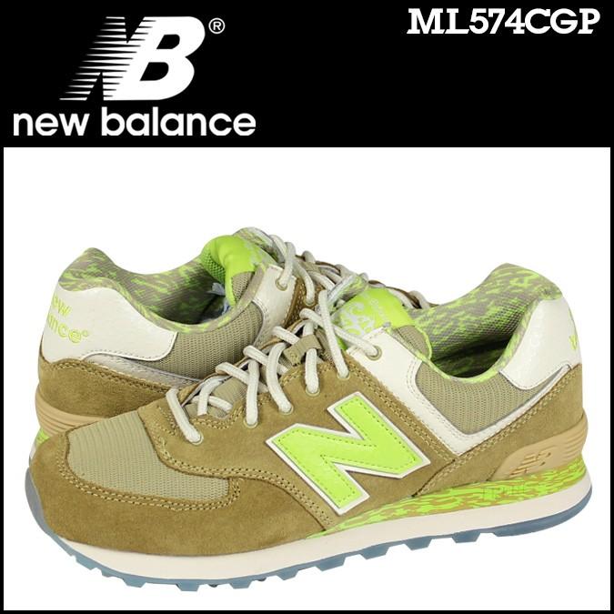 ニューバランス 574 メンズ new balance スニーカー ML574CGP Dワイズ 靴 イエロー 【CLEARANCE】【返品不可】