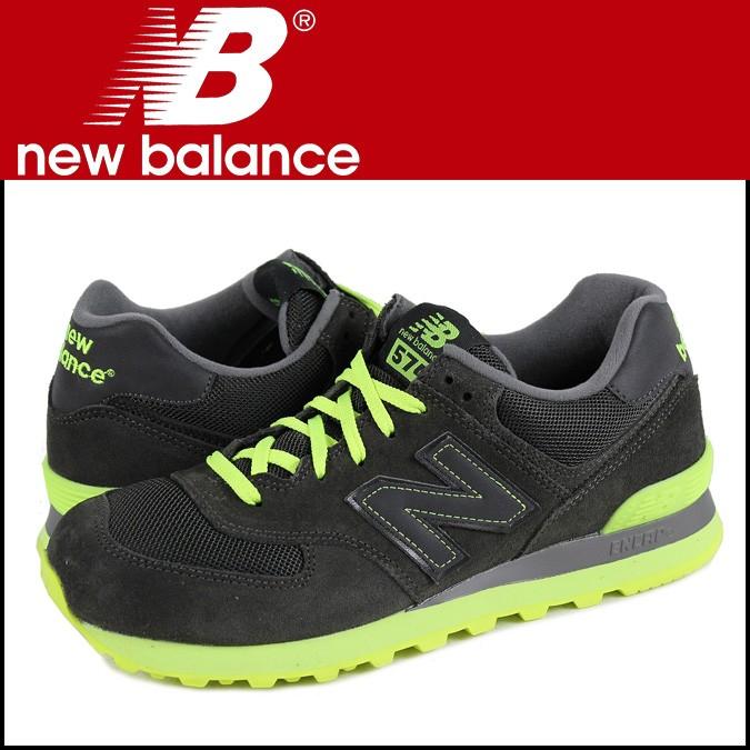 ニューバランス 574 メンズ new balance スニーカー ML574KNR Dワイズ 靴 ブラック 【CLEARANCE】【返品不可】