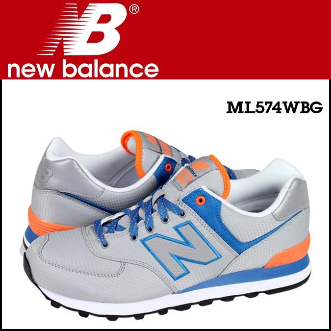 ニューバランス 574 メンズ new balance スニーカー ML574WBG Dワイズ 靴 グレー 【CLEARANCE】【返品不可】