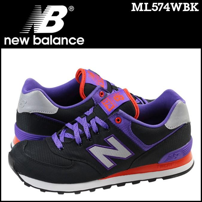 ニューバランス 574 メンズ new balance スニーカー ML574WBK Dワイズ 靴 ブラック 【CLEARANCE】【返品不可】