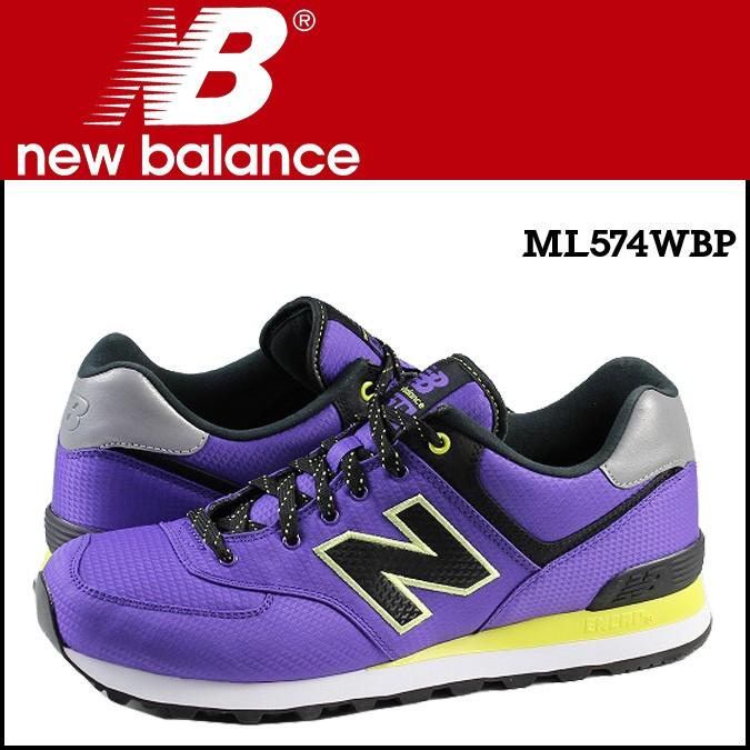 ニューバランス 574 メンズ new balance スニーカー ML574WBP Dワイズ 靴 パープル 【CLEARANCE】【返品不可】
