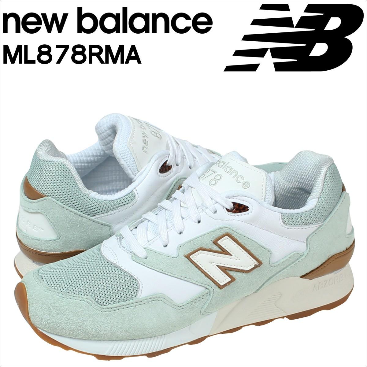 ニューバランス 878 メンズ new balance スニーカー ML878RMA Dワイズ 靴 ホワイト 【CLEARANCE】【返品不可】