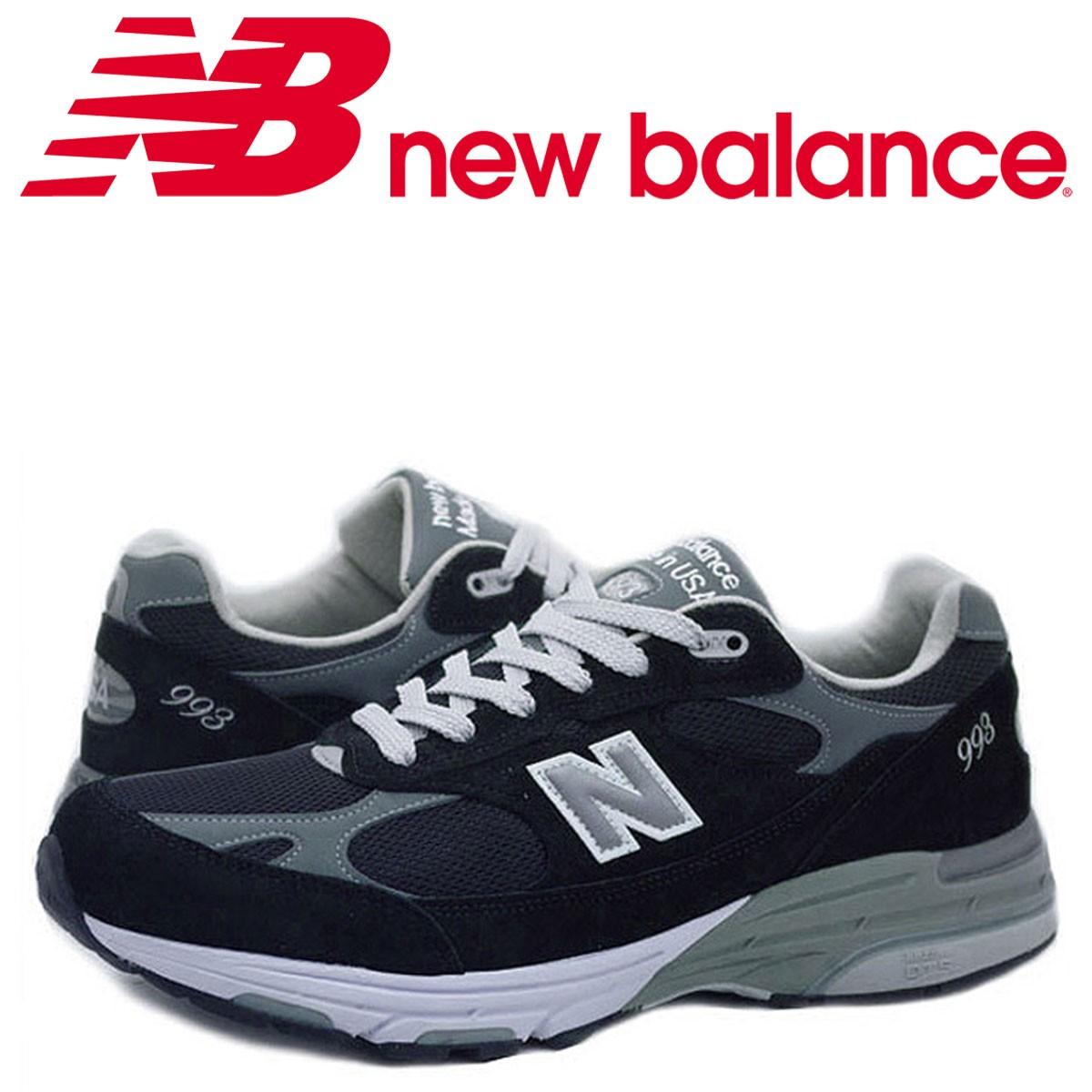 new balance MR993BK MADE IN USA ニューバランス メンズ スニーカー Dワイズ ブラック [3/15 再入荷] [182]