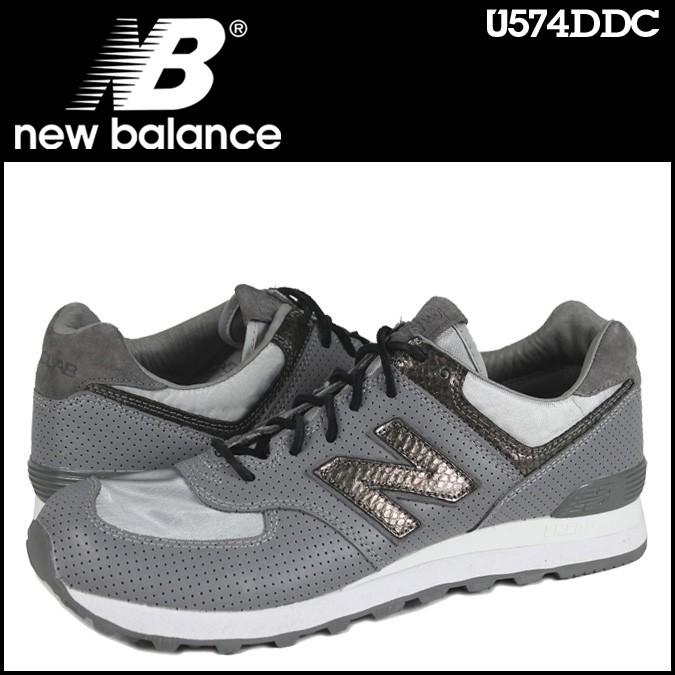 ニューバランス 574 メンズ new balance スニーカー U574DDC Dワイズ 靴 グレー 【CLEARANCE】【返品不可】