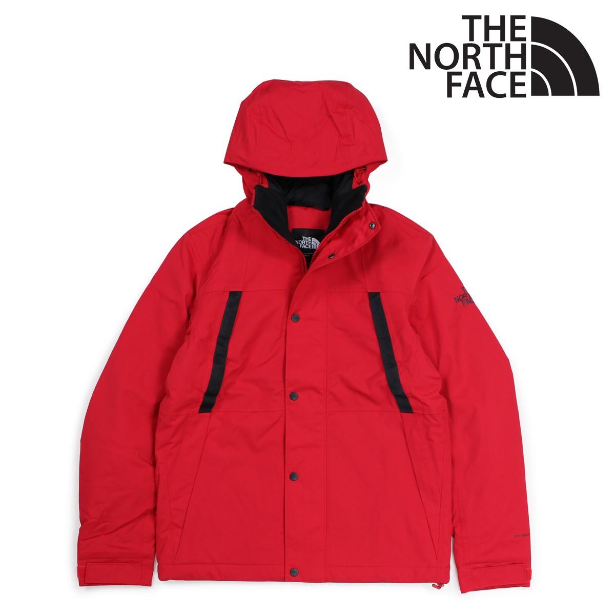 THE NORTH FACE MENS STETLER INSULATED RAIN JACKET ノースフェイス ジャケット レインジャケット メンズ レッド NF0A3EQ8 [3/7 新入荷] [183]