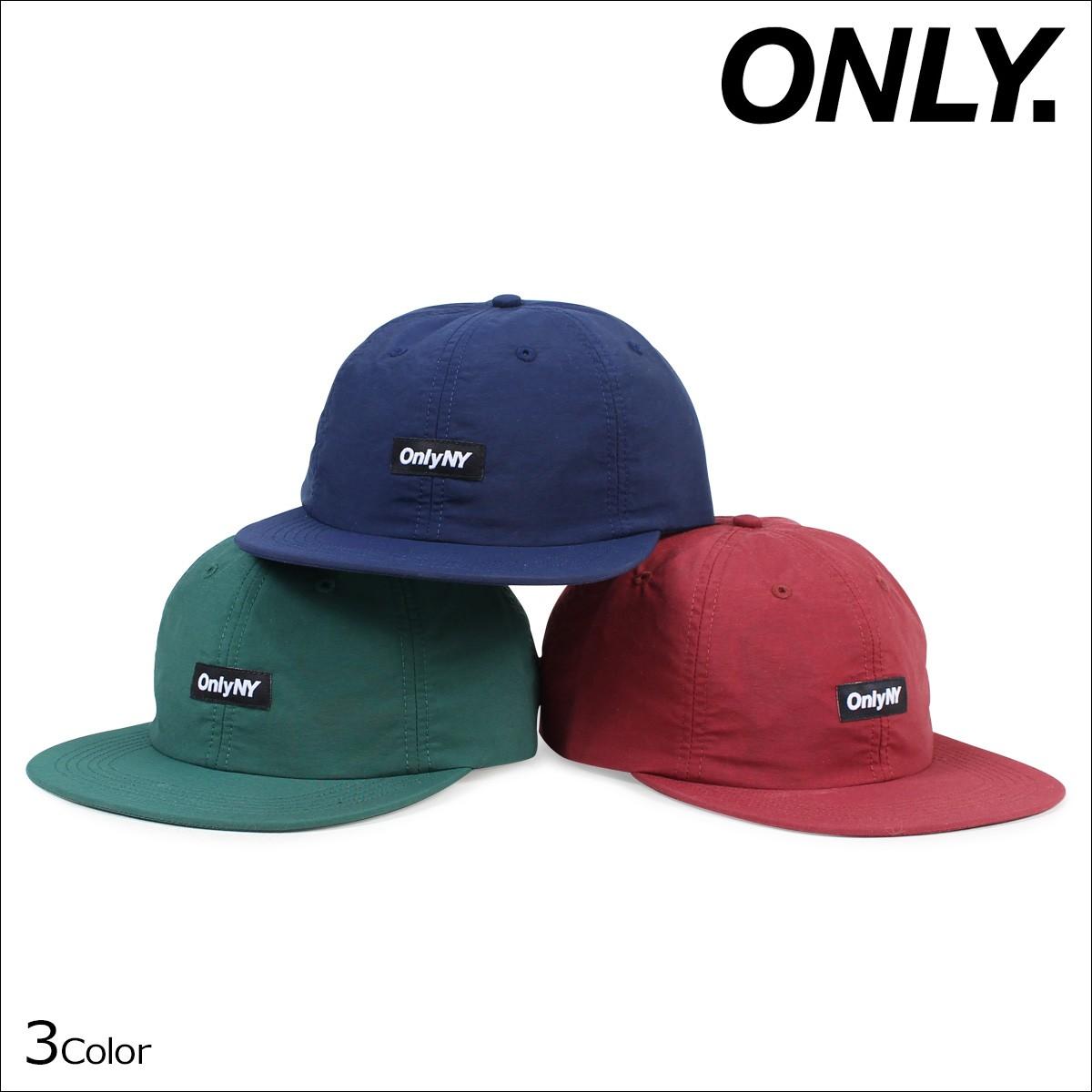 ONLY NY オンリーニューヨーク キャップ 帽子 メンズ レディース TECH POLO HAT ストラップバック ナイロン [12/22 新入荷]