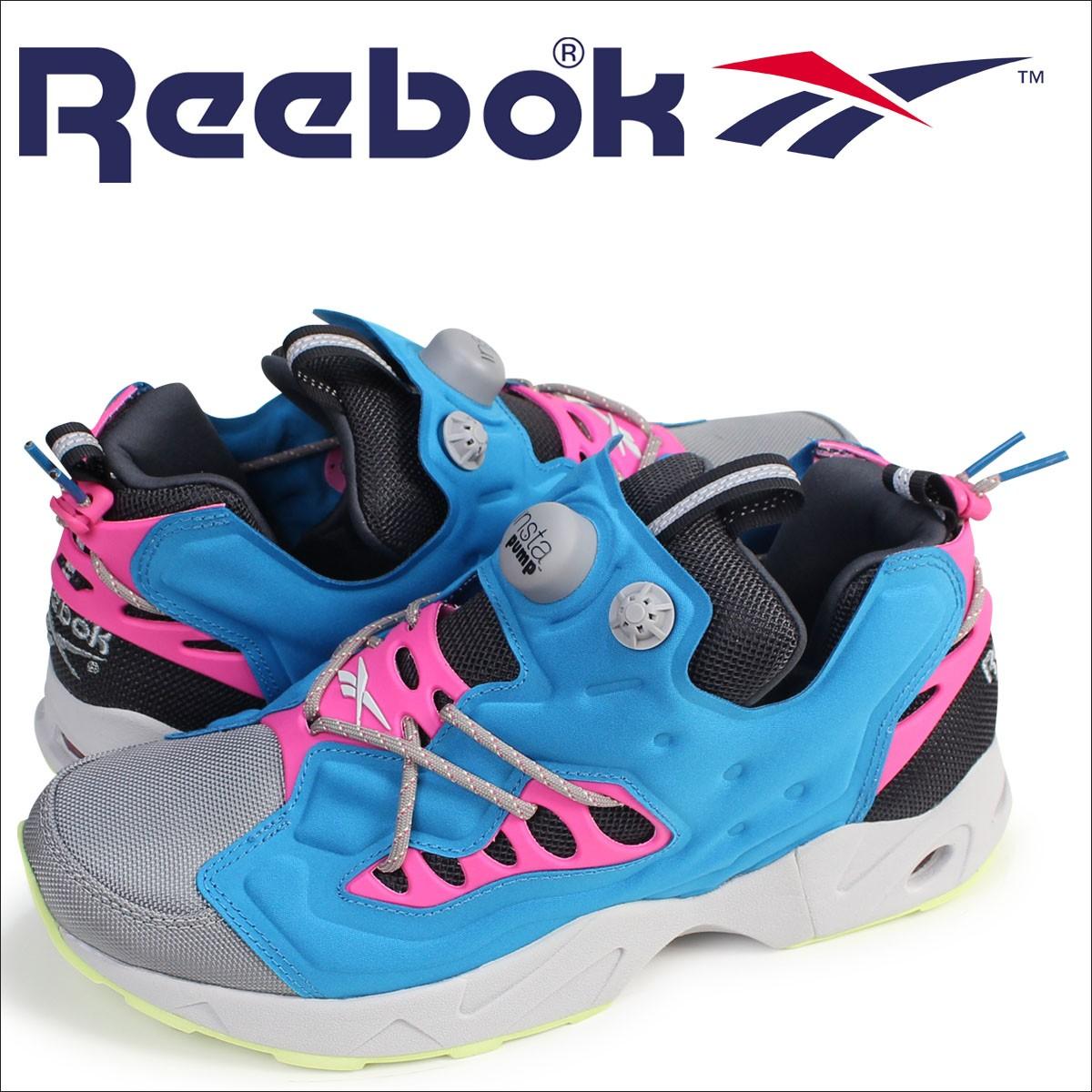 リーボック ポンプフューリー スニーカー Reebok INSTAPUMP FURY ROAD TR AR0013 メンズ 靴 ターコイズ