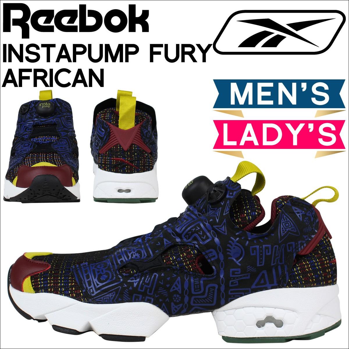 リーボック ポンプフューリー スニーカー Reebok INSTAPUMP FURY AFRICAN スニーカー メンズ レディース 靴 ブラック AR1706 [予約商品 1/26頃入荷予定 追加入荷]