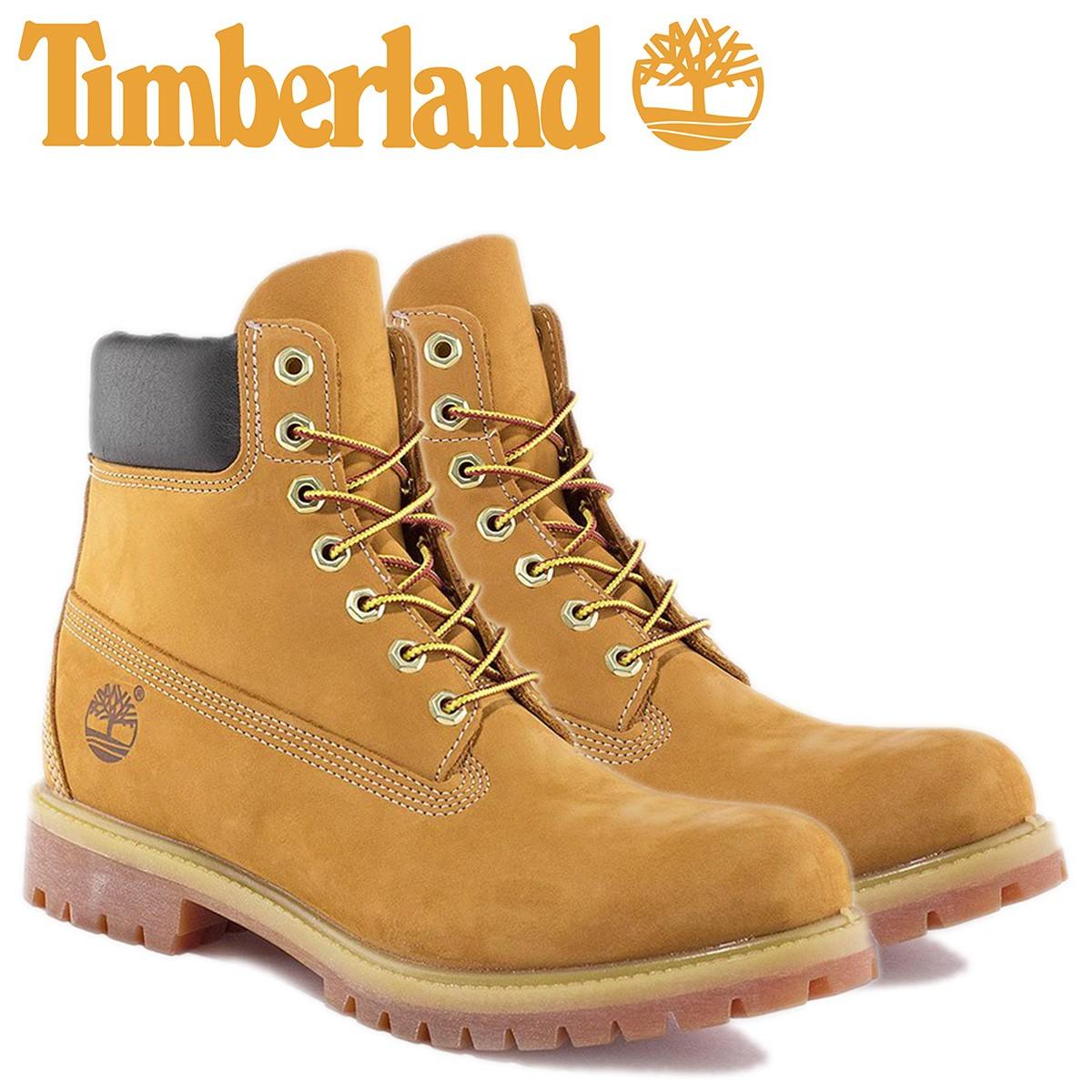ティンバーランド ブーツ メンズ 6インチ Timberland 6INCH PREMIUM WATERPROOF BOOTS 10061 プレミアム ウォータープルーフ [12/7 追加入荷]