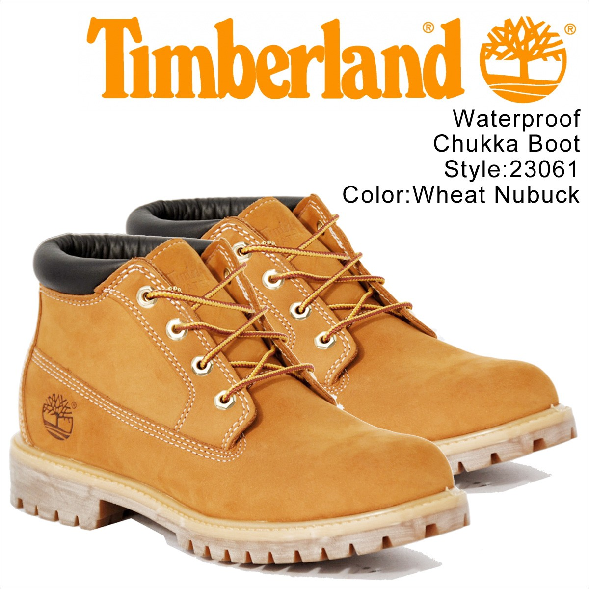 ティンバーランド チャッカ メンズ Timberland ブーツ WATERPROOF CHUKKA BOOT 23061 Wワイズ 防水