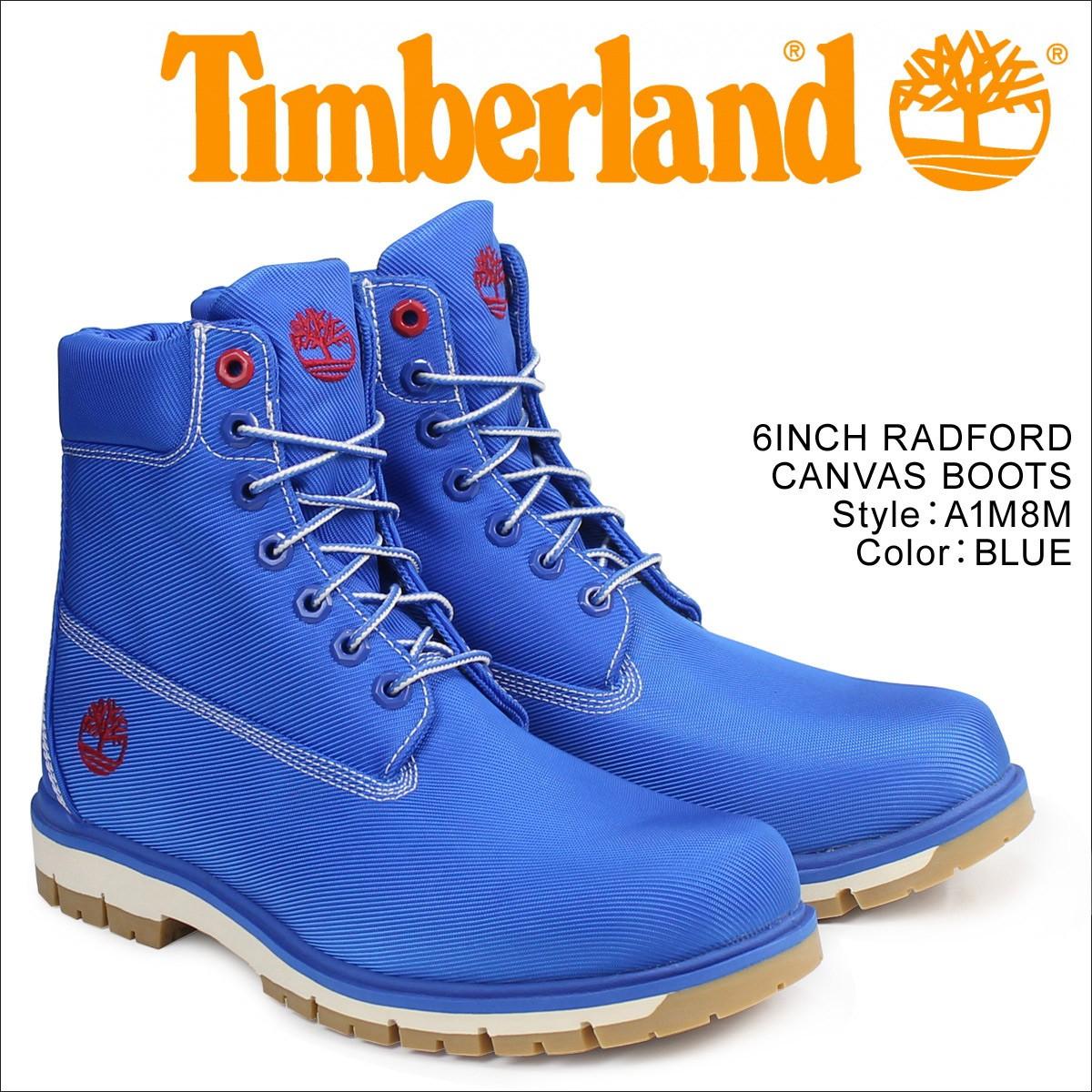 ティンバーランド 6インチ メンズ Timberland ブーツ 6INCHI RADFORD CANVAS BOOTS A1M8M Wワイズ