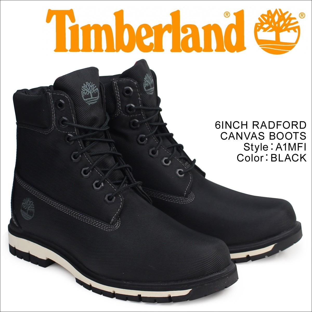 ティンバーランド 6インチ メンズ Timberland ブーツ 6INCHI RADFORD CANVAS BOOTS A1MFI Wワイズ