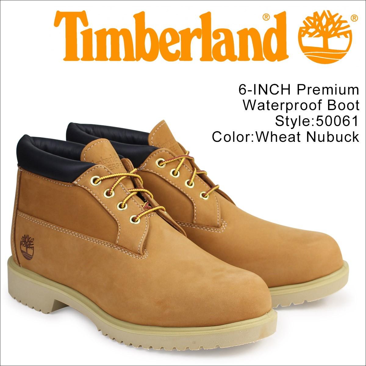 ティンバーランド チャッカ メンズ Timberland ブーツ ウォータープルーフ Waterproof Chukka Boot 50061 ウィート