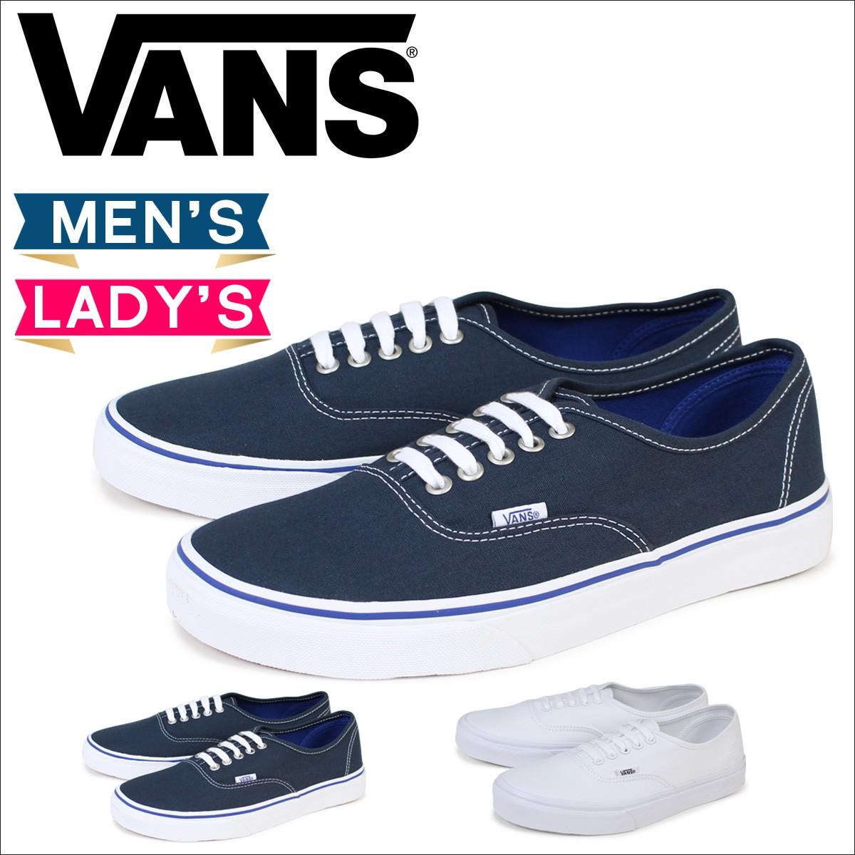 VANS オーセンティック スニーカー メンズ レディース バンズ ヴァンズ AUTHENTIC VN000EE3W00 VN0004MLJPV 靴 ホワイト ネイビー