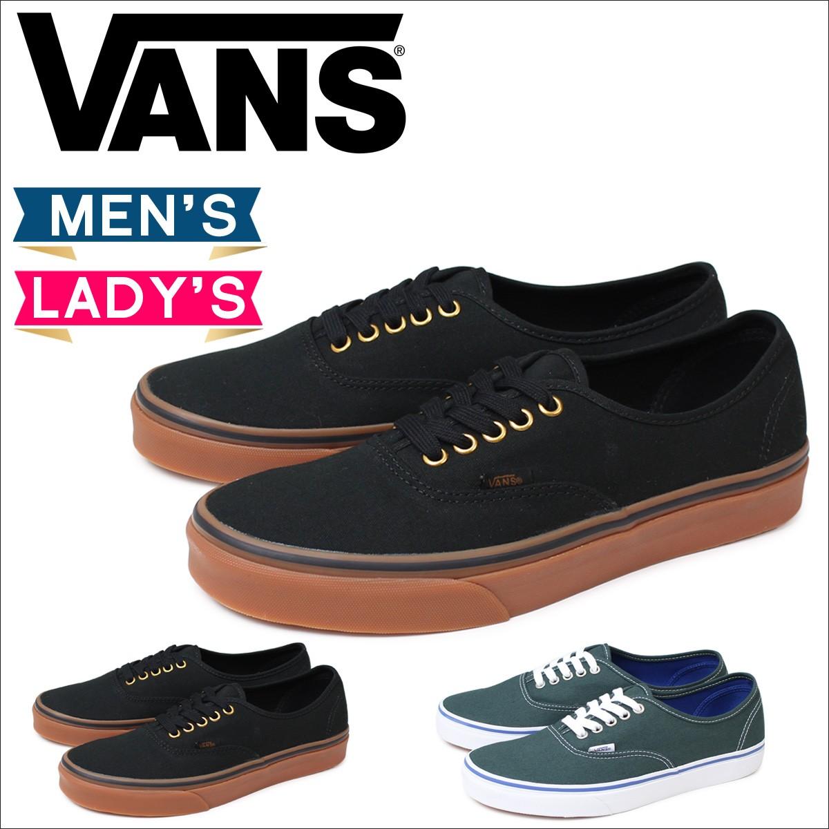 VANS オーセンティック スニーカー レディース メンズ バンズ ヴァンズ AUTHENTIC VN000TSVBXH VN0004MLJPT 靴 ブラック グリーン