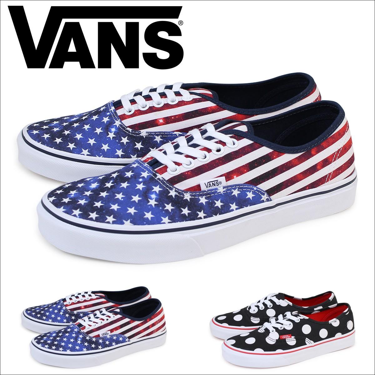 VANS オーセンティック スニーカー メンズ バンズ ヴァンズ AUTHENTIC VN0004MLJOD VN0004MLJPD 靴
