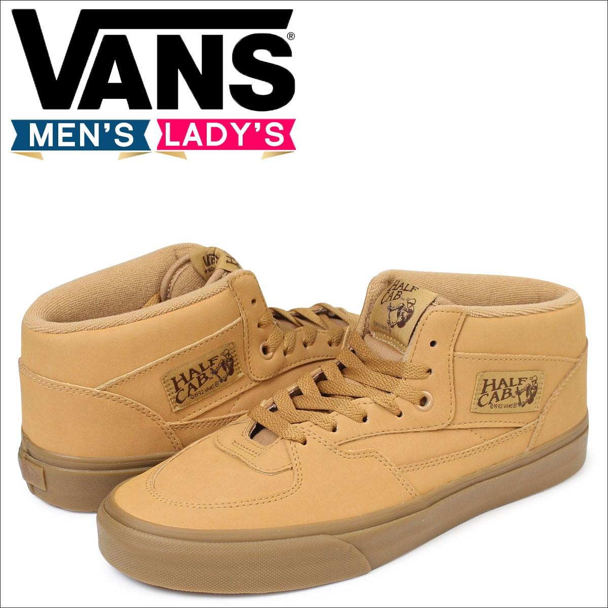 VANS HALF CAB スニーカー メンズ レディース バンズ ヴァンズ VN0A348EOTS 靴 ブラウン [1/23 追加入荷]