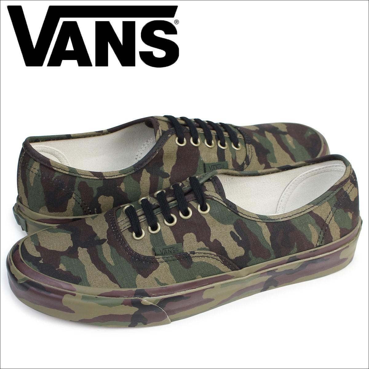 VANS オーセンティック スニーカー メンズ バンズ ヴァンズ AUTHENTIC MONO PRINT VN0A38EMOP3 靴 カモ