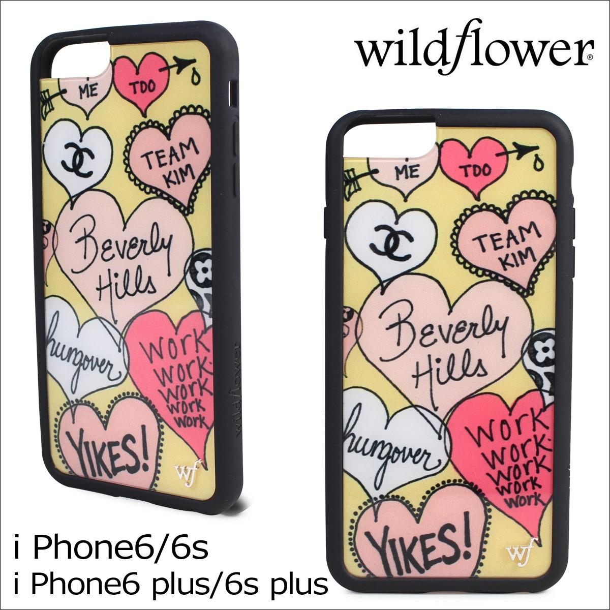 wildflower ケース スマホ ワイルドフラワー iPhoneケース 6s アイフォン レディース ハンドメイド
