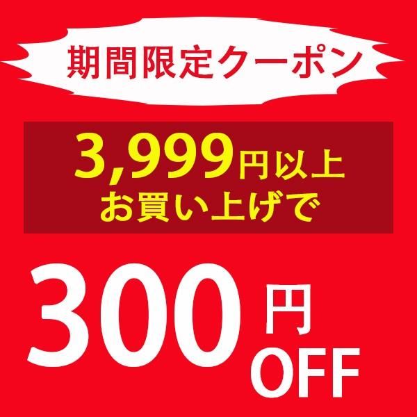 3999円以上のお買い上げで300円OFF!!