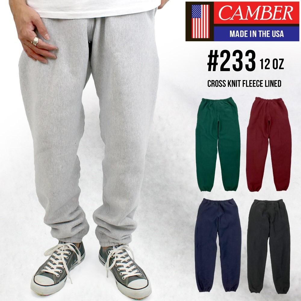キャンバー CAMBER SWEAT PANT スウェット パンツ 裏起毛 メンズ ( 男性用 ) ( 233 )