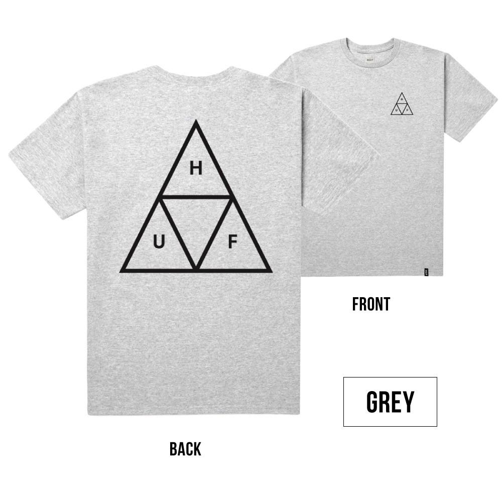 ハフ HUF メンズ 半袖 プリント Tシャツ Triple Triangle Tee Box Logo Tee