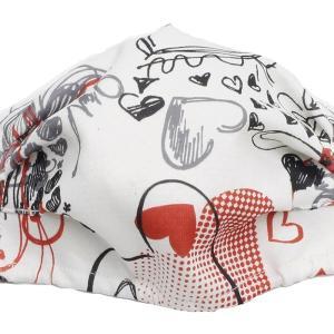 マスク 銀 日本製 洗える  抗ウイルス デザインマスク 息がらく 口につかない 臭くない 耳ヒモ調整 ずれない 調湿 3D 立体マスク 飛沫 花粉 父の日 デザインC|SocielニットブティックPayPayモール店