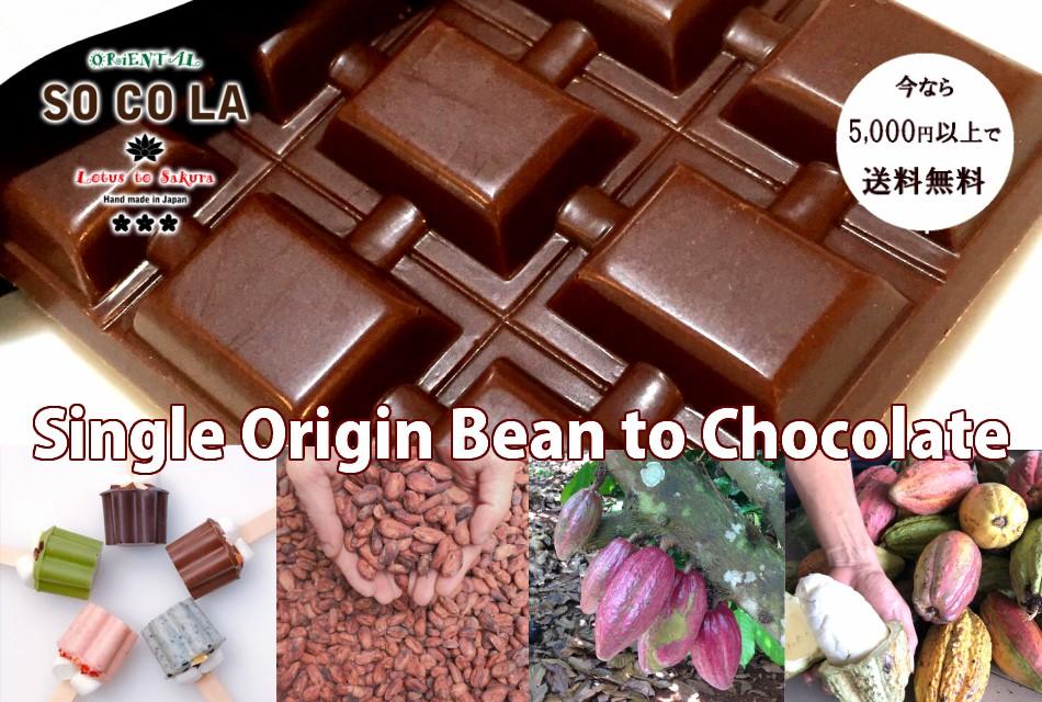 本物がわかる大人のための無添加オーガニックチョコレート=SOCOLA