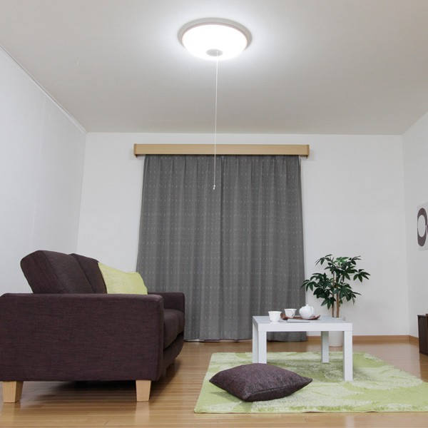 アイリスオーヤマ LEDシーリングライト 4400lm 調光10段階+LED常夜灯 リモコン付 CL8D-WP-R8 〜10畳