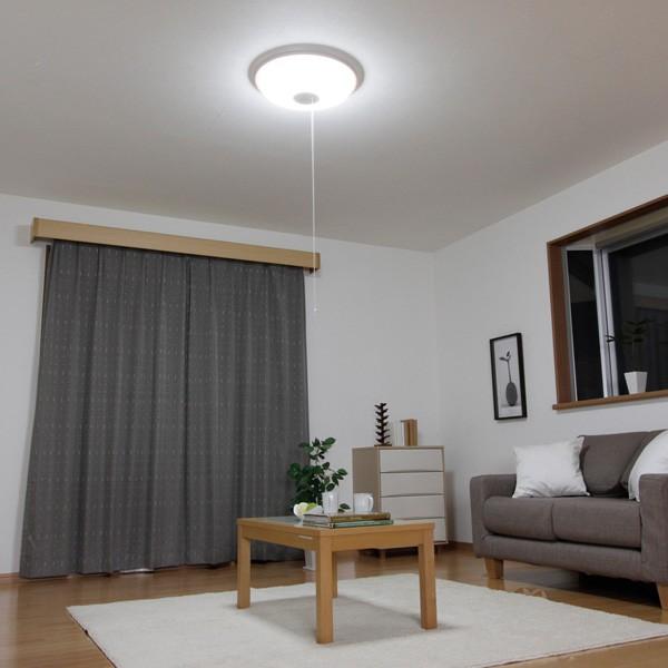 アイリスオーヤマ LEDシーリングライト 3800lm 調光2段階+LED常夜灯 リモコン無 CL8N-WP 〜8畳