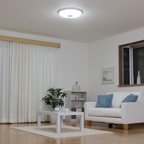 アイリスオーヤマ LEDシーリングライト 4400lm 調光10段階+LED常夜灯 CL8D-WHL 〜8畳