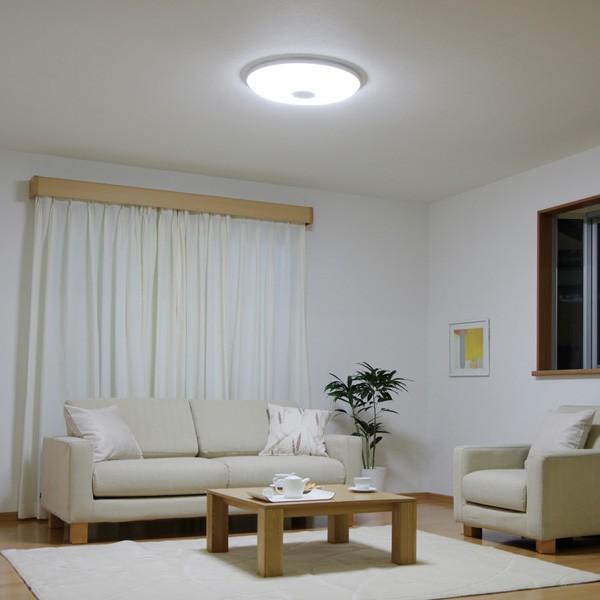 アイリスオーヤマ LEDシーリングライト 5600lm 調光10段階+LED常夜灯 CL12D-WHL 〜12畳