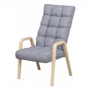 椅子 おしゃれ チェア いす シンプル 一人掛け リクライニング イス肘掛け ウッドアームチェア Lサイズ WAC-L アイリスオーヤマ|sofort|12