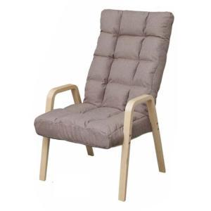 椅子 おしゃれ チェア いす シンプル 一人掛け リクライニング イス肘掛け ウッドアームチェア Lサイズ WAC-L アイリスオーヤマ|sofort|13